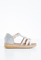 Naughty Kids - Annabela strap sandal - silver