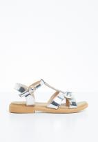 Naughty Kids - Annarose  strap sandal - silver