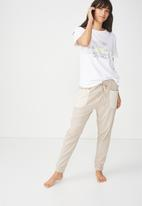 Cotton On - Jersey scoop T-shirt - white