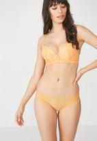 Cotton On - Maddie bikini brief - orange
