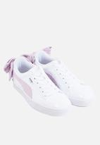 PUMA - Basket bow - white