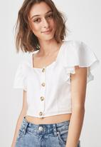 Cotton On - Ava blouse - white