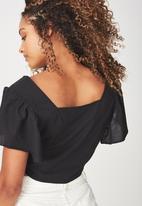 Cotton On - Ava blouse - black