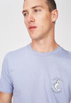 Cotton On - Totally hammered Tbar tee  - purple