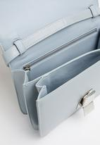 Joy Collectables - Shiny faux leather bag - blue