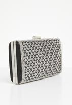 Joy Collectables - Detailed rectangle purse - black