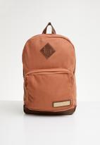 RVCA - schooled back pack - rust