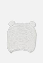 Cotton On - Baby knit beanie - white