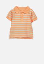 Cotton On - Hugo polo tee - orange