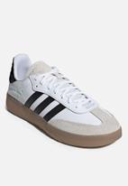 adidas Originals - SAMBA RM - black/white/clear mint