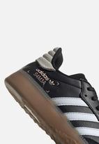 adidas Originals - SAMBA RM - black/white/clear orange