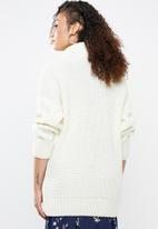 Superbalist - Cable knit chunky - cream
