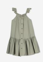 Cotton On - Lettie dress - green
