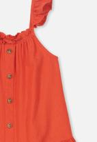 Cotton On - Lettie dress - orange
