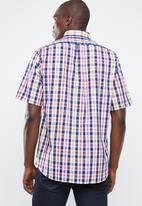 Pringle of Scotland - Hamlet short sleeve shirt - multi