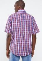 Pringle of Scotland - Rankin short sleeve shirt - red