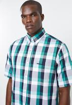 Pringle of Scotland - Galway short sleeve  shirt - multi