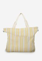 Cotton On - Slouchy washed tote - yellow