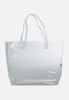 Cotton On - Crystal clear tote - transparent