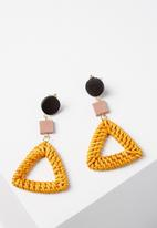 Cotton On - Tijuana earrings - multi