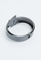Joy Collectables - Bold cuff bangle - grey