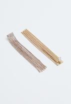 Vero Moda - Sina tassel earrings - gold