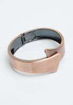 Joy Collectables - Bold cuff bangle - rose gold
