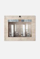 Typo - Whiskey set - transparent