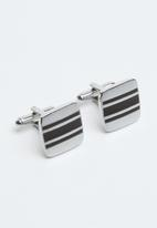 Joy Collectables - Drew cufflinks - silver
