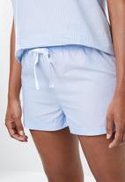 Superbalist - Cami & shorts set - blue stripe
