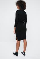 Vero Moda - Sidse glory o-neck dress - black