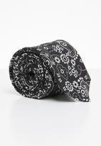 Joy Collectables - Hue printed tie - black