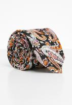 Joy Collectables - Paisley print tie - multi