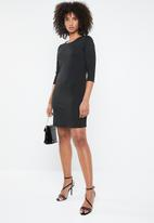ONLY - Brilliant 3/4 dress - black