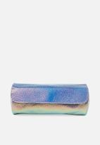 Typo - Roll up cosmetic bag - metallic