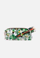 Typo - Bailey pencil case - green