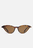 Joy Collectables - Cat-eye sunglasses - brown
