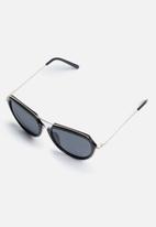 Superbalist - Jackie oversized sunglasses - black