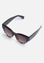 Superbalist - Cat eye sunglasses - brown & black