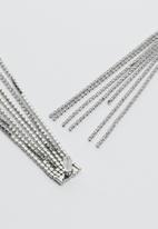 Vero Moda - Sina tassel earrings - silver