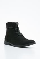 Superbalist - Jona lace-up boot  - black