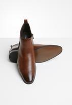 Gino Paoli - Fancy gusset boot - brown