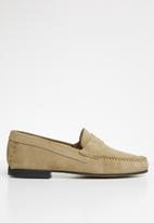 Superbalist - Harry suede mocassin - stone