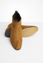 Superbalist - Chelsea boot with back pull tab - tan