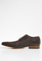 Superbalist - Toby leather monk - brown