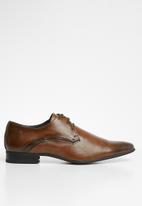 Gino Paoli - Two tone porto lace up - brown