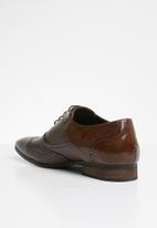 MAZERATA - Magio patent brogue - dark brown