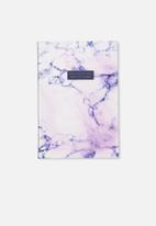 Typo - Activity time journal - white & purple