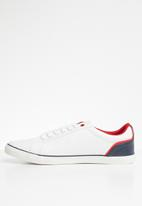 POLO - Round toe sneakers - white