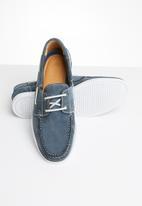 Newport - Boat shoe - blue